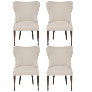 Vanguard Furniture Ava Side Chairs in Neuron Beige - Set of 4