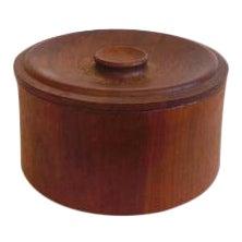 Vintage Dansk Teak Ice Bucket