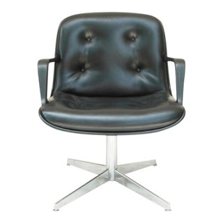 Mid-Century Modern Charles Pollock Style Executive Chair by Steelcase