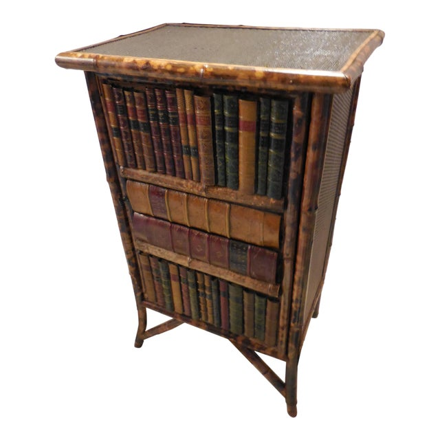 Bamboo Library Cabinet - Image 1 of 8