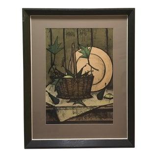 Mid-Century Buffet Framed Print