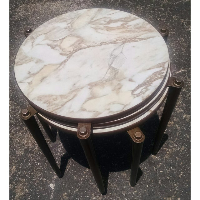 Image of Vintage Mid-Century Nesting Tables - Set of 3