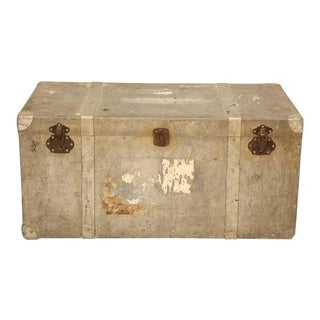 French Metal Trunk