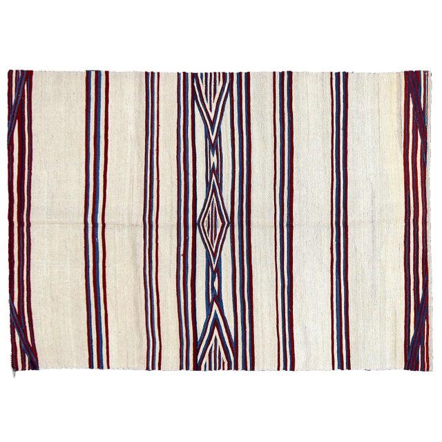 Apadana - Vintage Navajo Flatweave Rug - 5' x 8' - Image 1 of 2