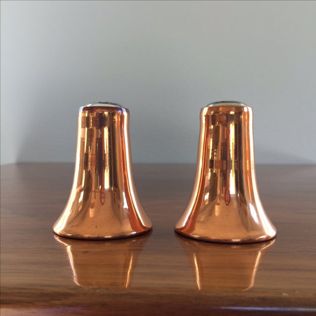 Copper Salt and Pepper Shakers - A Pair - Image 3 of 10