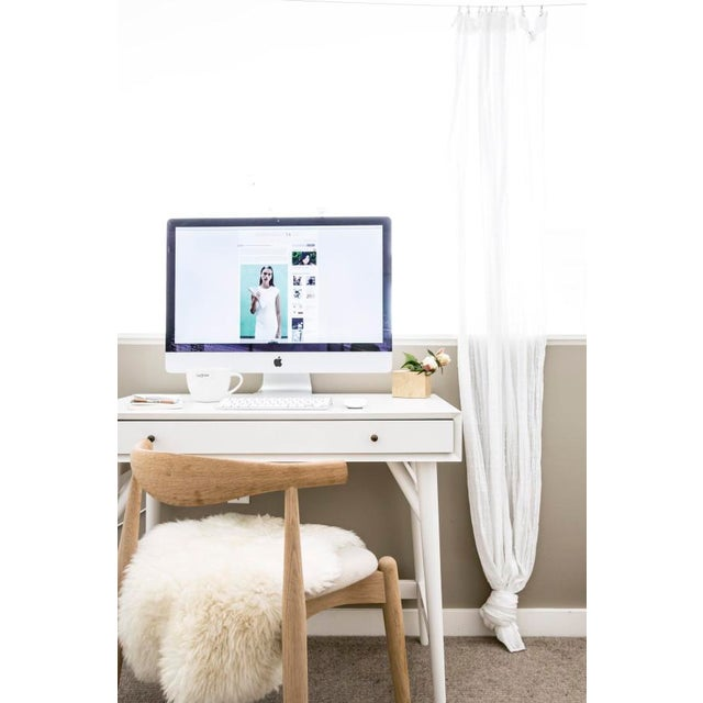 Small West Elm Mid-Century Desk - Image 2 of 4