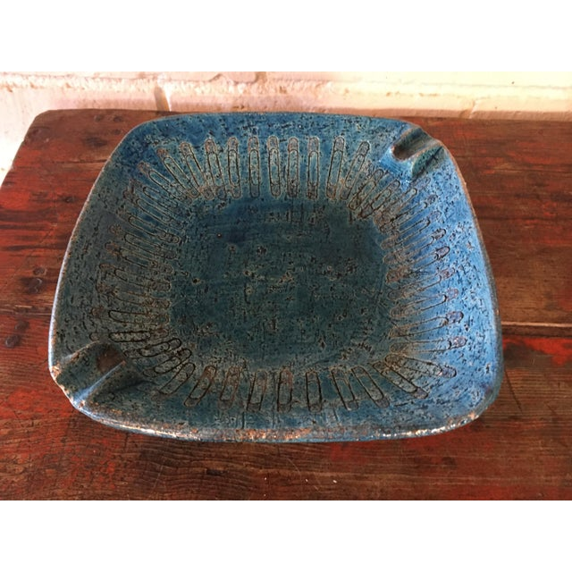 Bitossi Blue Bowl From Italy - Image 4 of 9