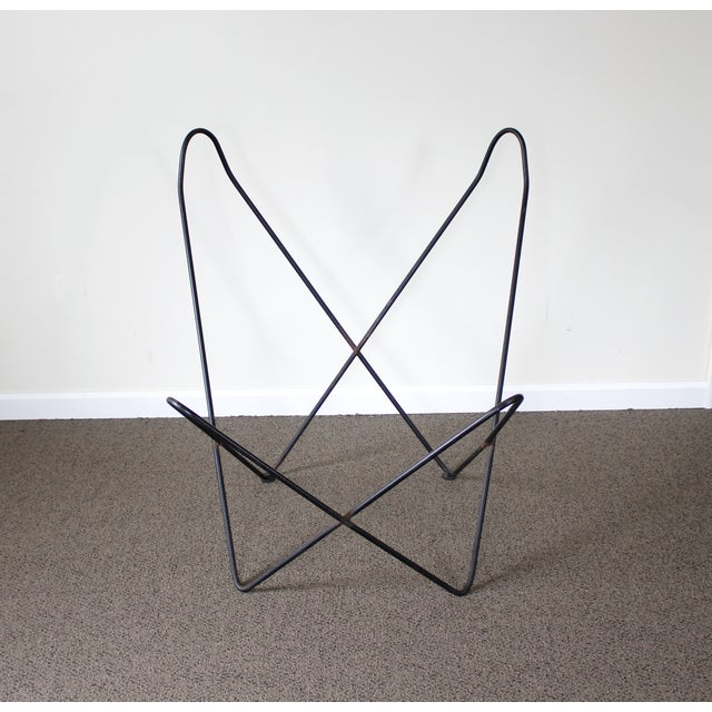 Image of Iron Hardoy Butterfly Chair Frame