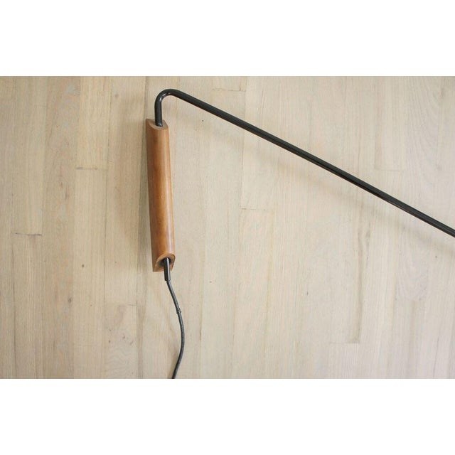 CB2 Large Swing Arm Mantis Wall Sconce - Image 6 of 7