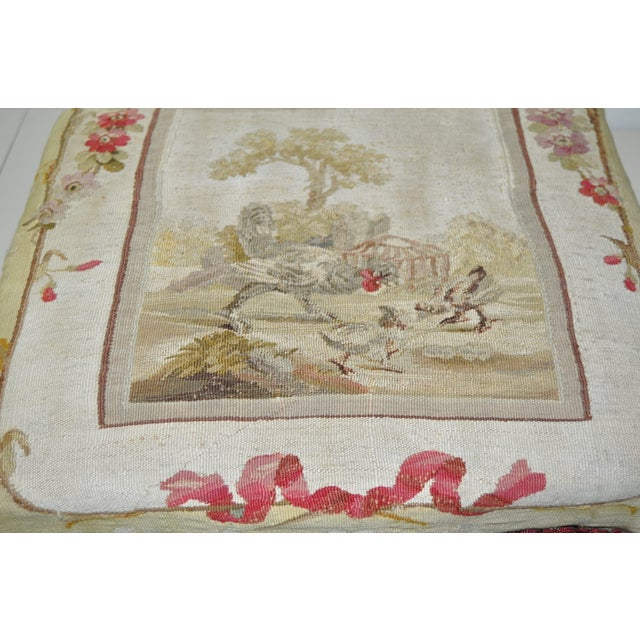 French Rococo Footstool 19th C. - Image 5 of 7