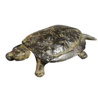 Bronze Turtle Jewelry Box