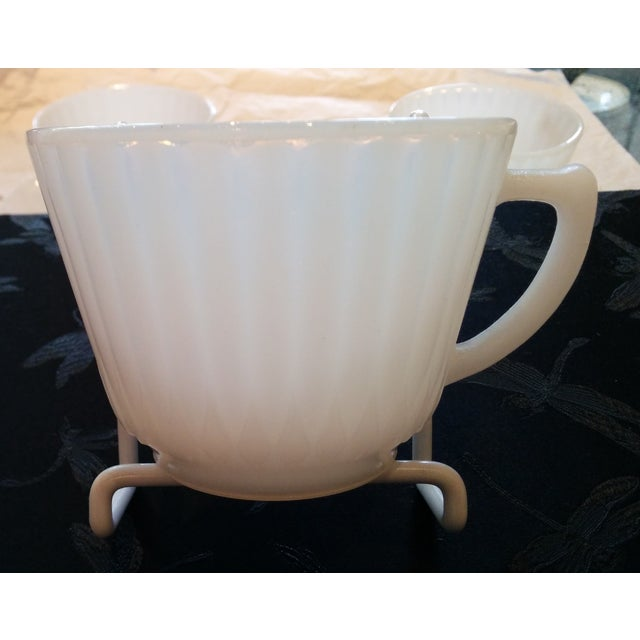 1920s Petalware Teacups and Saucers - Set of 3 - Image 8 of 9