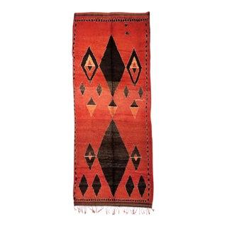 Vintage Moroccan Medouna Rug - 6′2″ × 14′9″