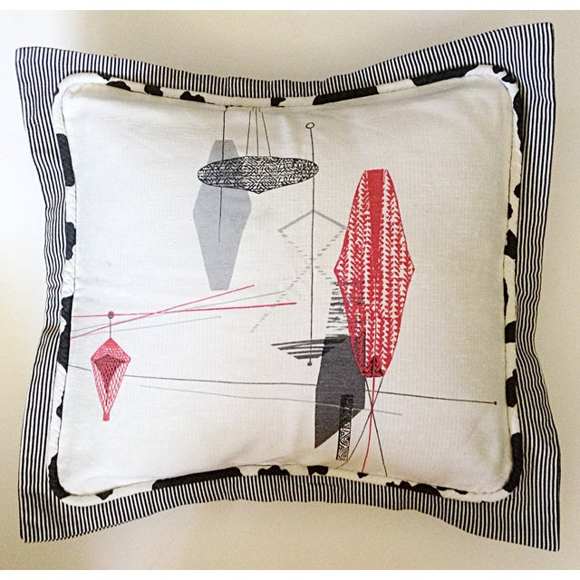 Midcentury Decorative Pillow Sham - Image 2 of 4