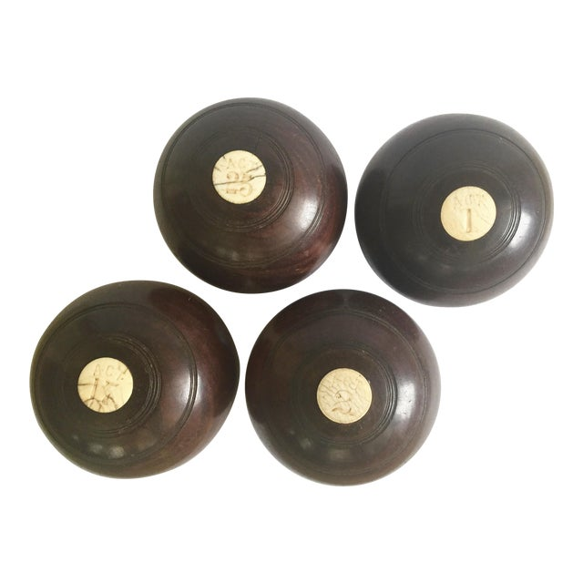Circa 19th Century Lawn Balls - Set of 4 - Image 1 of 9