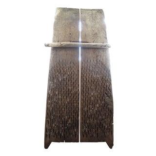 Antique Wheat Thrash