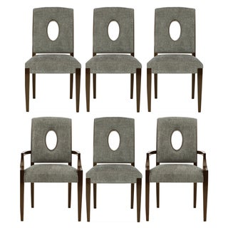 Bernhardt Miramont Upholstered Dining Chairs - S/6