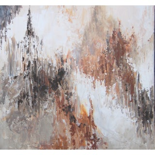 Abstract Cityscape Painting by C. Plowden