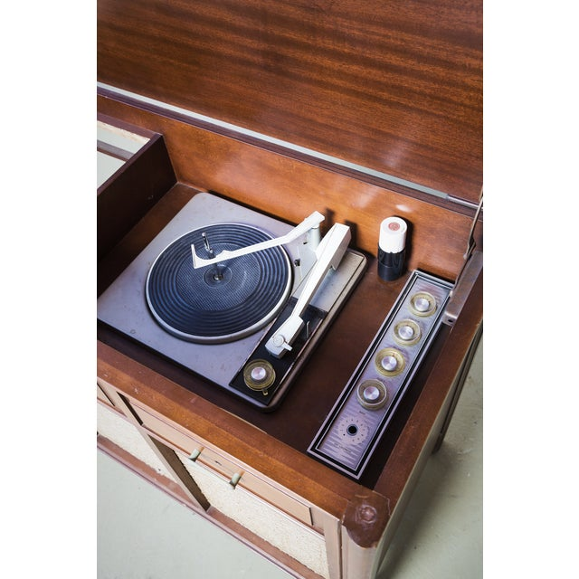 Image of Mid-Century Rca Turntable Console