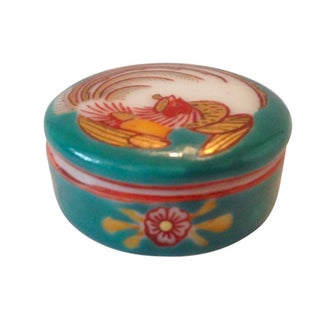 Fine Porcelain Hand-Painted Box