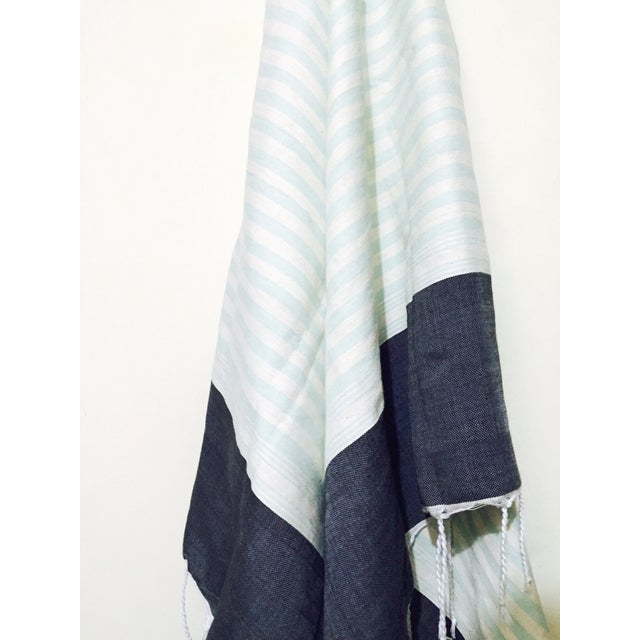 Hand Loomed Moroccan Towel - Image 2 of 3