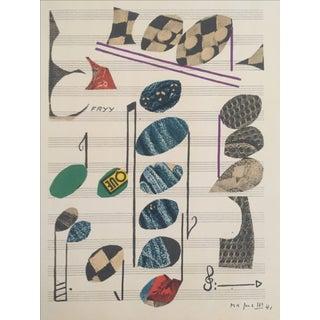Original Lithograph by Alberto Magnelli