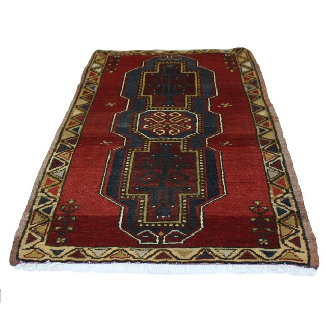 "Vintage Kurdish Carpet - 1'11"" X 3'7"" - Image 2 of 2"