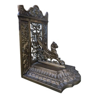 Gargoyle Throne Bookend
