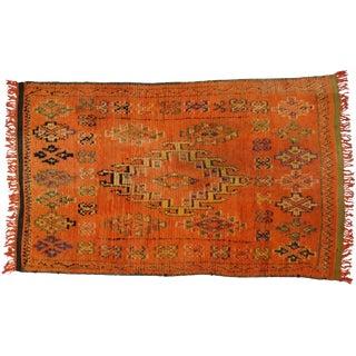 Vintage Berber Moroccan Rug, 4'11x7'11