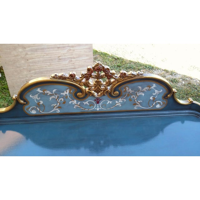 Hand-Painted French Desk - Image 10 of 10