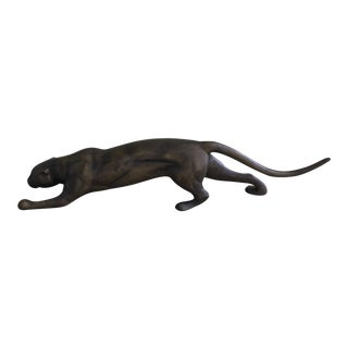 Large Brass Panther