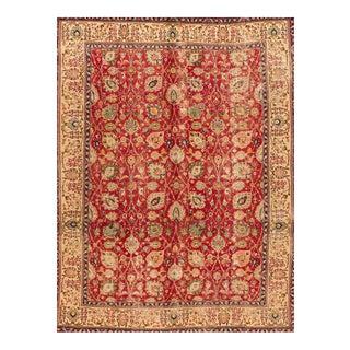 """Apadana - Vintage Persian Tabriz Rug, 9'5"""" x 12'5"""""""