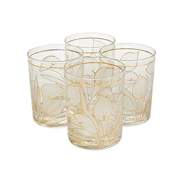 1970's Lillie Glass Tumblers - Set of 4 - Image 2 of 4