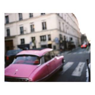 """Pink Car - Paris, France"" Floating Photo Print"