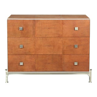 Sarried Ltd Tan Shagreen Dresser