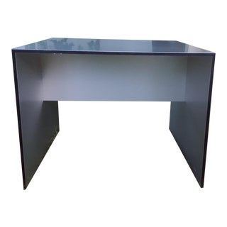 B&b Italia Silver Contemporary Side Table