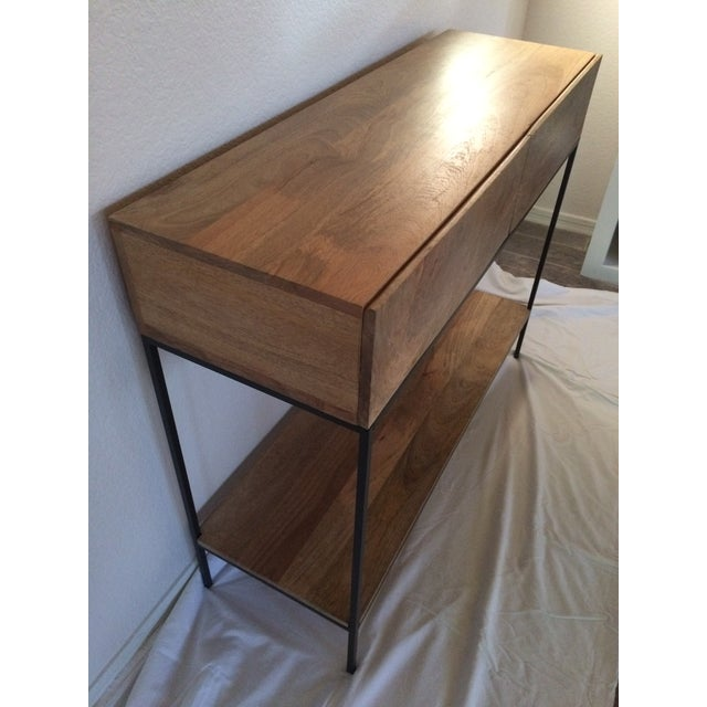 Image of West Elm Rustic Storage Console