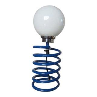 Ingo Maurer Royal Blue Spring Lamp