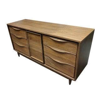 Mid-Century Modern Walnut Dresser