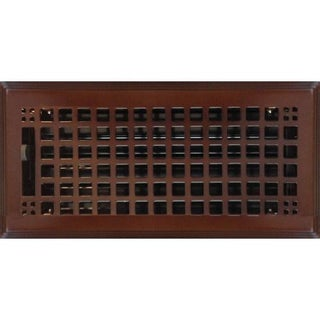 Rockwell Oil-Rubbed Bronze Floor Registers / Set of 9