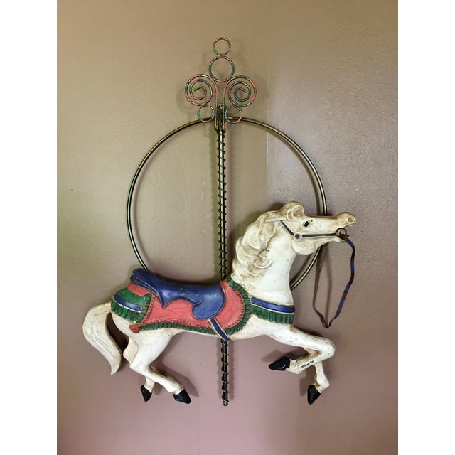 Image of Curtis Jere Carousel Horse Wall Hanging