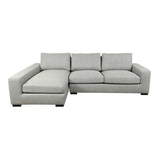 Heavy Cloth Sectional Sofa