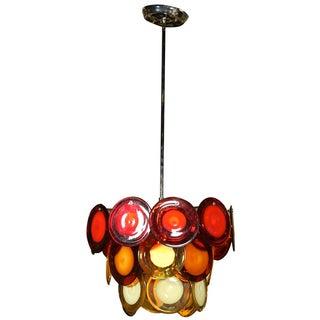 Vostisis Murano Glass Tiered Chandelier