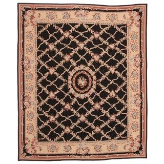 RugsinDallas Chinese Handmade Needlepoint Carpet - 8' X 10'