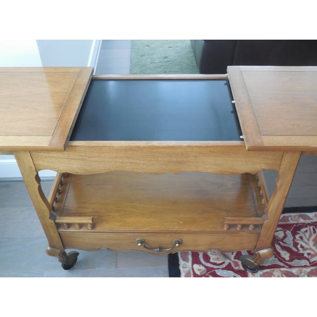 1940s Thomasville Sideboard Cart - Image 5 of 5