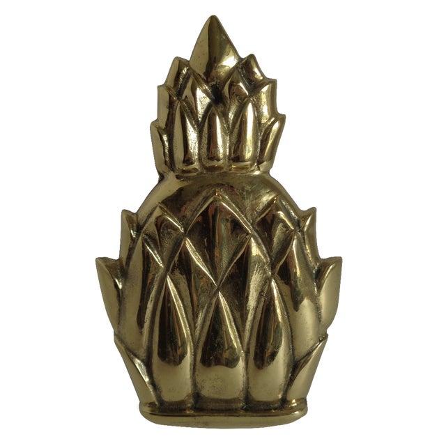 Brass Pineapple Door Knocker - Image 1 of 4