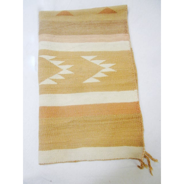Image of Navajo Saddle Blanket Rug- 2′8″ × 4′3″