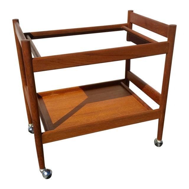 Image of Mid-Century Modern Bar Cart