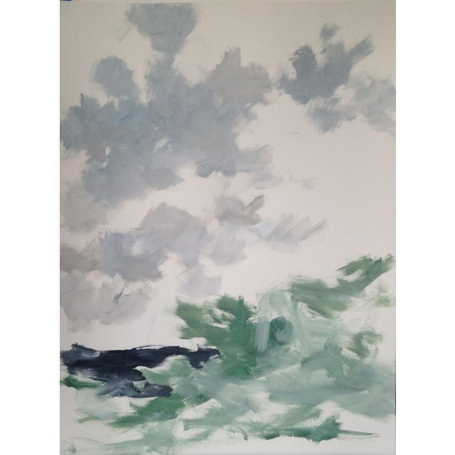 Abstract Landscape Painting by Chelsea Fly - Image 2 of 6