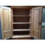 Image of Hand Made Pine Armoire